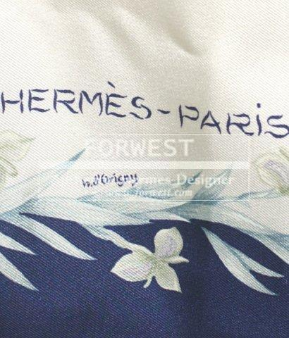 Auth Hermes Eperon D 039or By Henri D 039origny Horse Floral Scarf