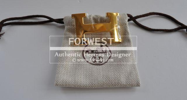 Authentic Hermes 32mm 039h 039Buckle In Gold