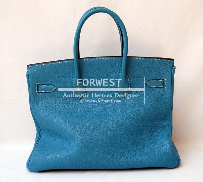 4304f0fd4946 ... netherlands authentic hermes 35 birkin blue jean p h w 3211f 604ff