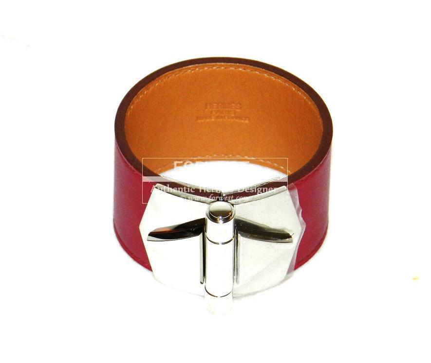 Authentic Hermes Berenice Rubis Palladium Hw Brand New
