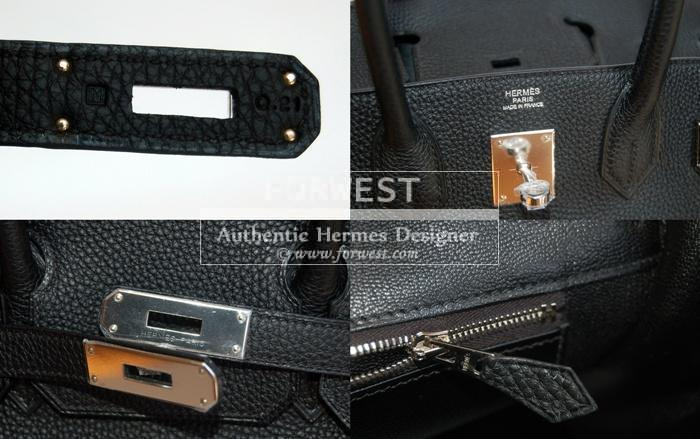 Authentic Hermes Black 30 Birkin Togo With P H W- 11000.0000 0771658e4700a