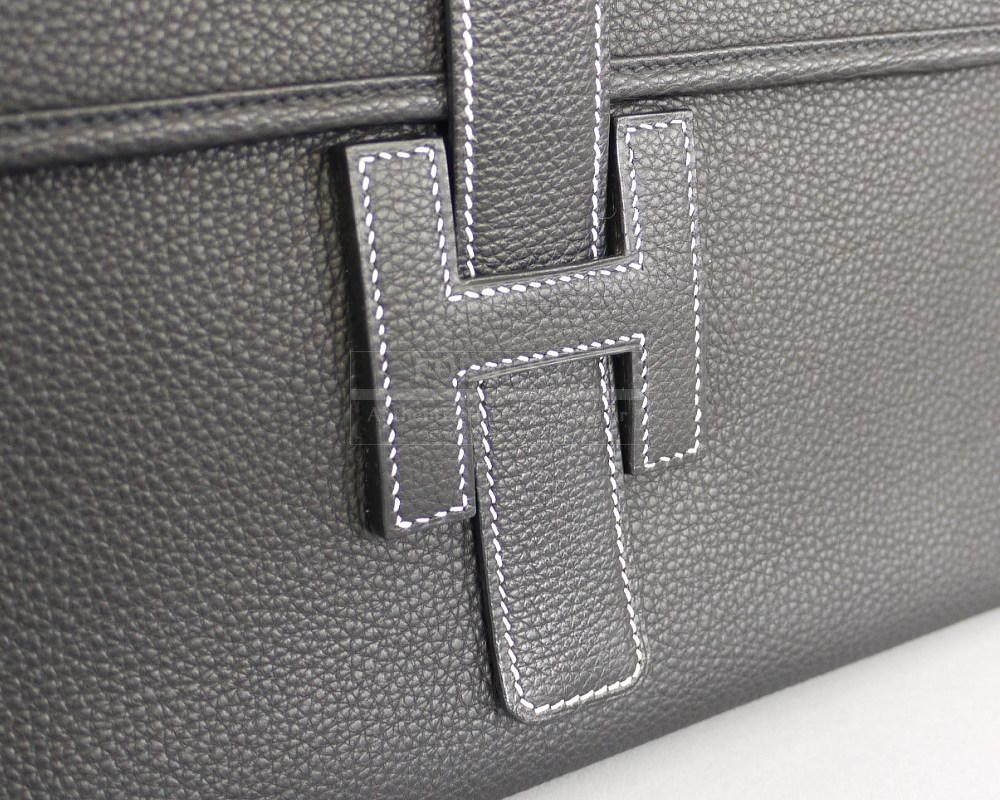 Hermes Large Black Clutch Bag Hermes Replica Purses
