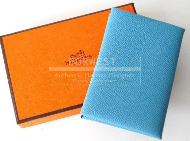 Authentic hermes blue jean leather business name card holder case authentic hermes blue jean leather business name card holder case 2990000 colourmoves Gallery