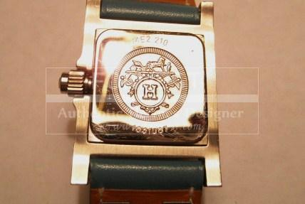 Authentic Hermes Blue Jean Palladium Medor C D C Watch Rare