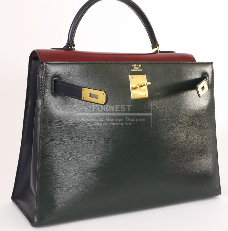 hermes birkin price - Authentic_Hermes_Box_Calf_Tricolor_Kelly_Bag_28_Complete_Set_8.jpg