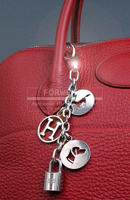 Authentic Hermes Breloque Bag Charm