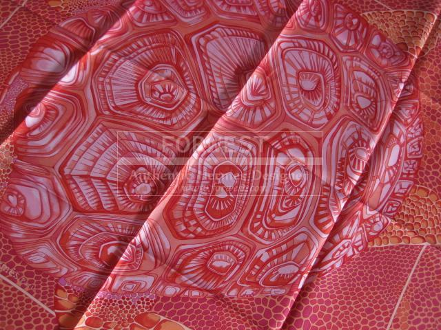 Authentic Hermes Carre De Madras A Zakynthos Silk Scarf