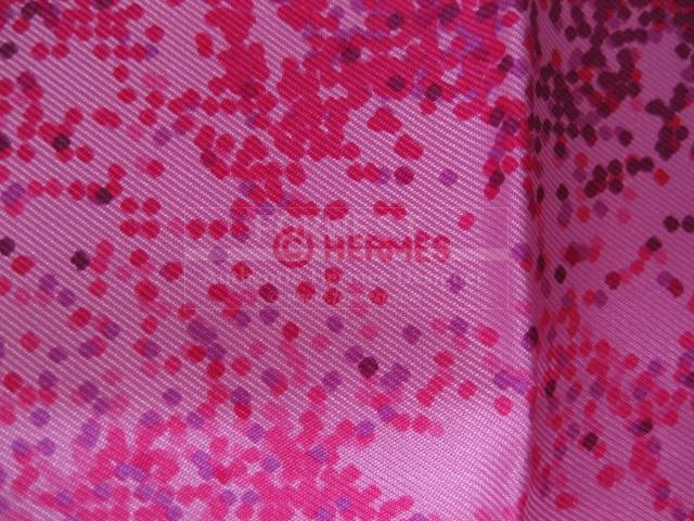 Authentic Hermes Carre Indian Dust Silk Scarf