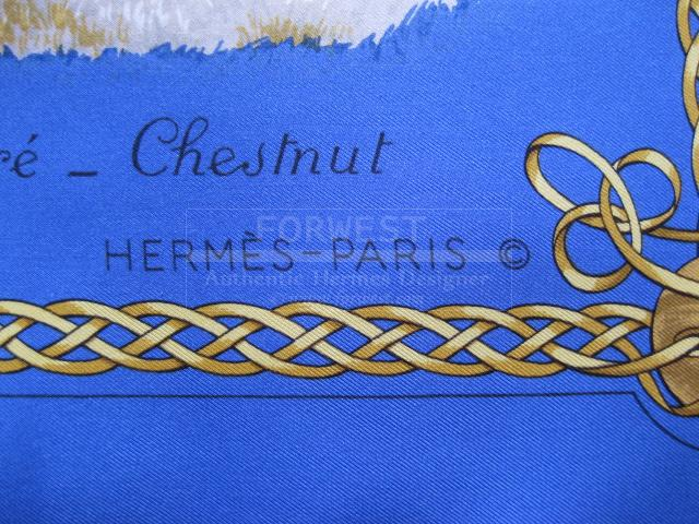 Authentic Hermes Carre Les Robes Silk Scarf