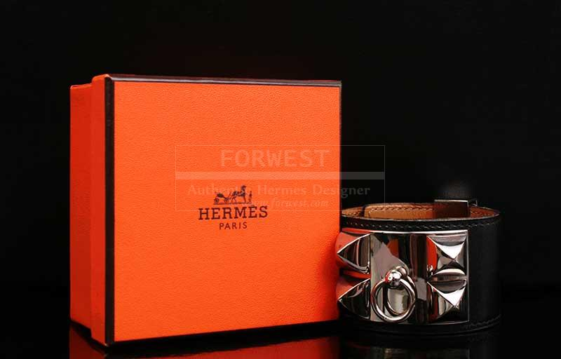 Authentic Hermes Collier De Chien Cdc Bracelet