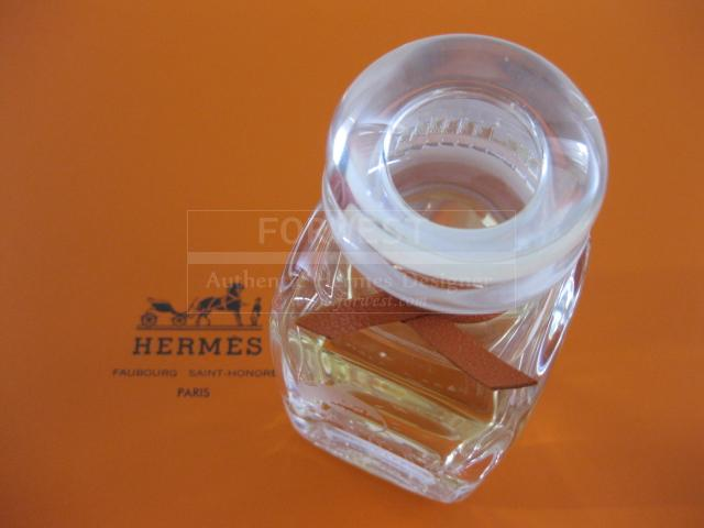 Authentic Hermes Eau D Hermes Limited 2001 Edition Crystall Glass Flacon