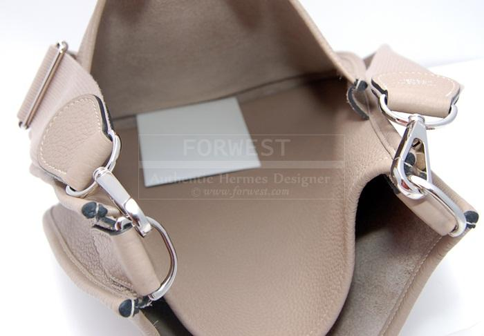 Authentic Hermes Evelyne I I I PM Gris T Clemence
