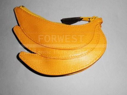 Authentic Hermes Fruit Coin Purse Highly Collectible Bananas