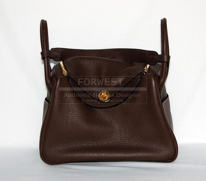 Authentic Hermes Lindy 30 Cafe Clemence G H W