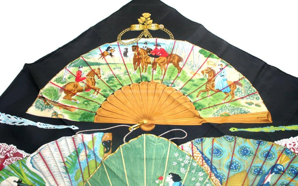Authentic Hermes Madrid Silk Scarf