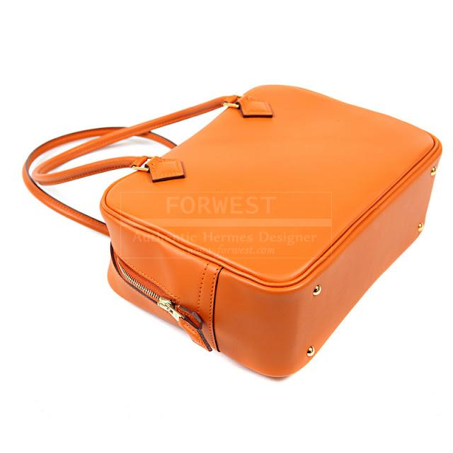 Authentic Hermes Orange Plume Bag-$4600.0000