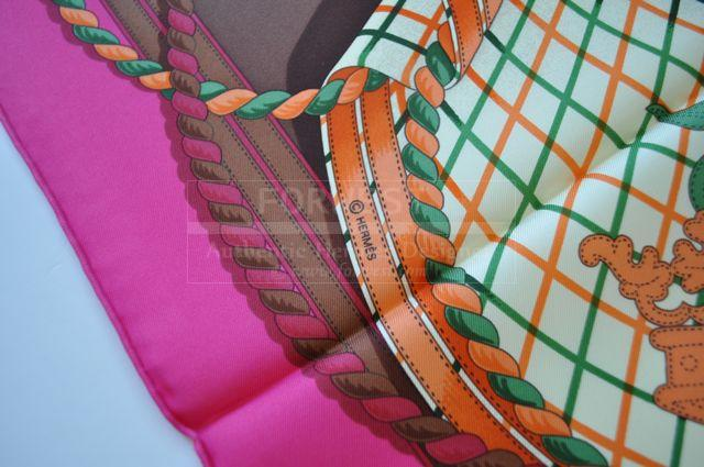 Authentic Hermes Queens Jubilee 2012 Scarf Limited Edition