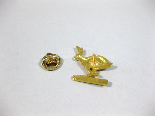 Authentic Hermes Rare Rabbit Pin Brooch