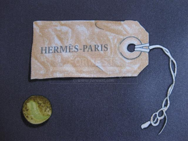 Authentic Hermes Scarf In The Pocket Silk Carre