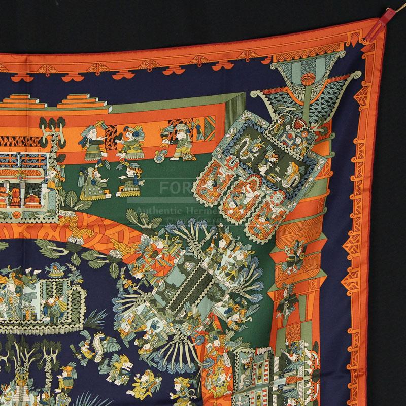 Authentic Hermes Silk Scarf Astres Et Soleils In Pristine Cond