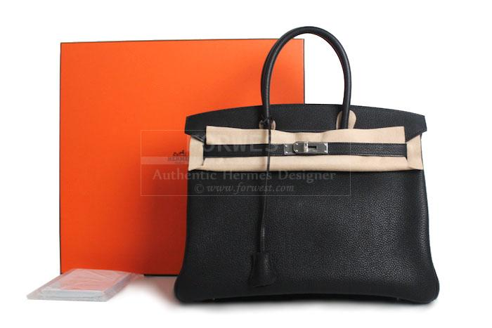 Authentic Hermes Togo Birkin 35 Cm Bag New