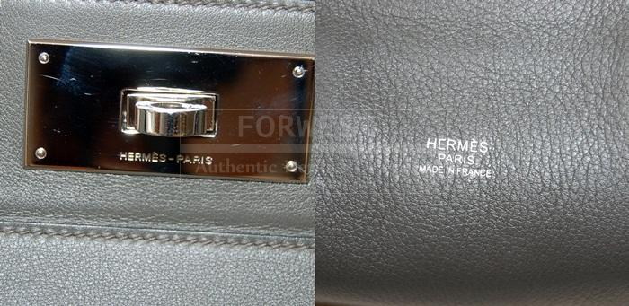 Authentic Hermes Toolbox 33 Graphite Swift P H W