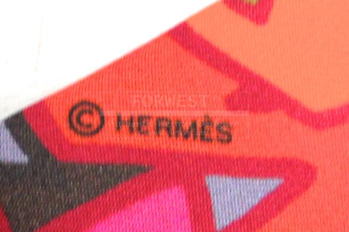 Authentic Hermes Twilly Graff Silk Scarf New