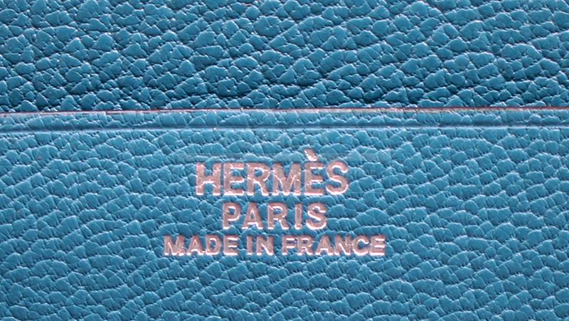 Authentic Hermes Vision II Zip Agenda Cover Organizer Wallet