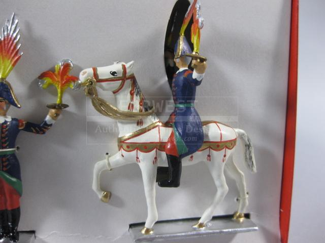 Authentic Ultra Rare Hermes Fireworker Tin Soldiers Artificiers