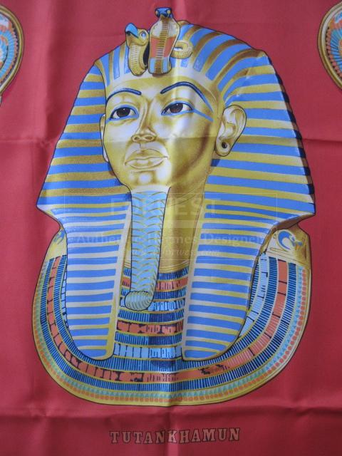 Authentic Rare Hermes Scarf Tutankhamun Silk Carre