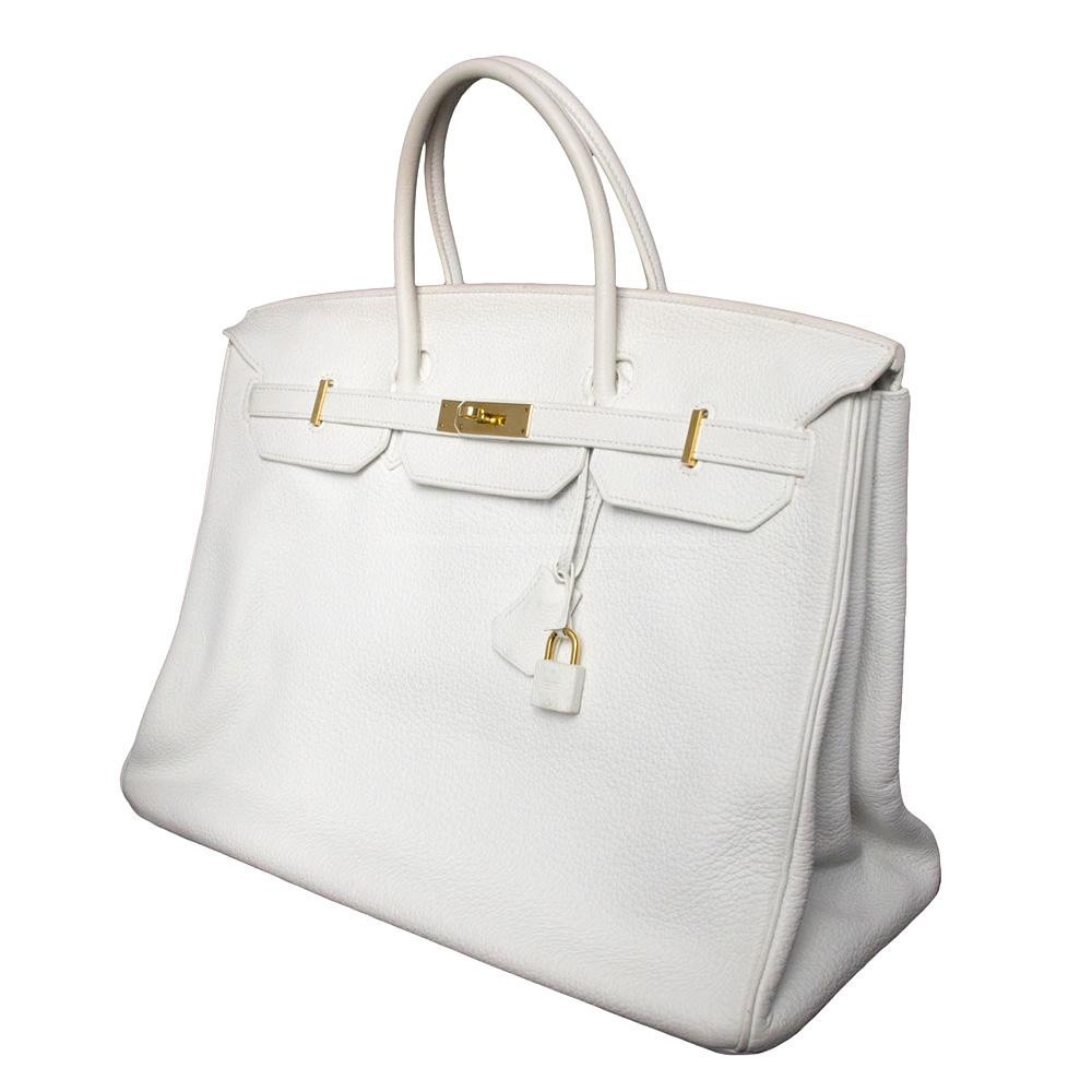 white birkin bag