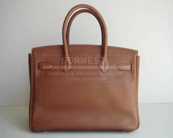 2863f58ef8b55 Hermes Birkin 30 Marron Dinde Swift With Gold Hardware Authentic ...