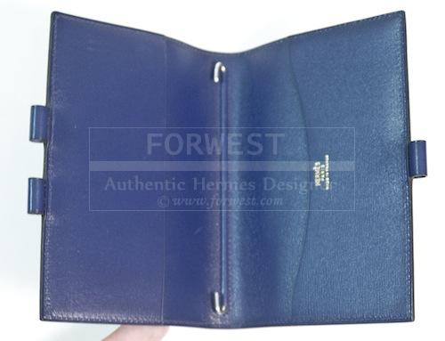 Hermes Blue Agenda Cover Day Planner