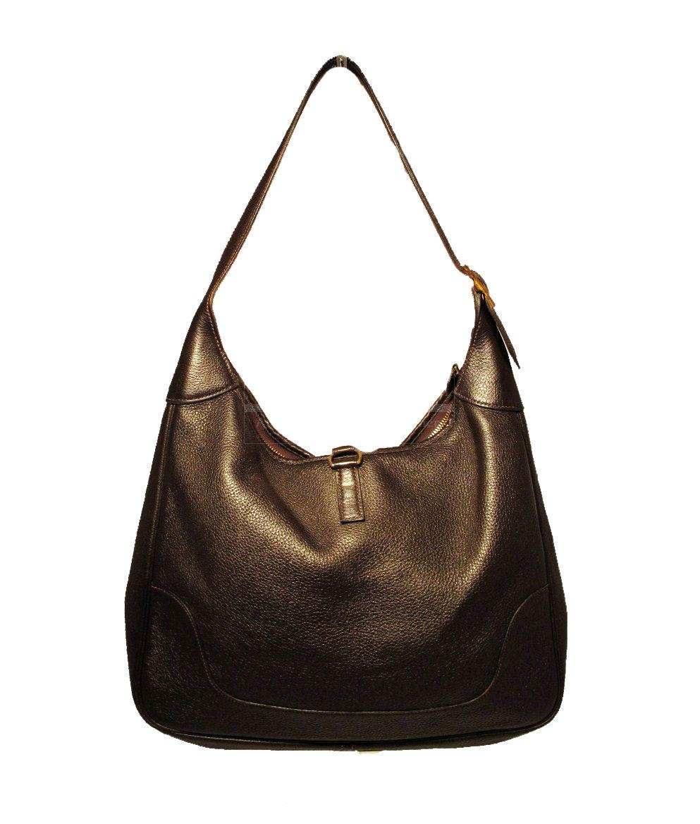 Hermes Brown Trim Shoulder Bag