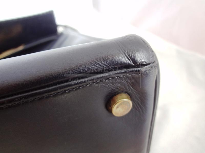 Hermes Kelly 32 Handbag Black Box Gdhw