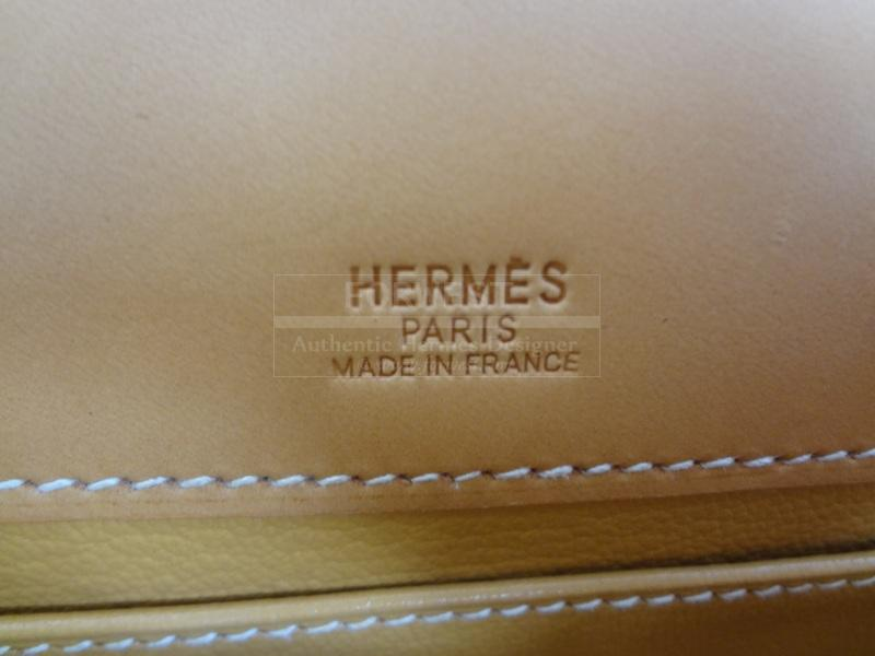 Hermes Kelly Pochette Runway 2004 Unique Piece In The World