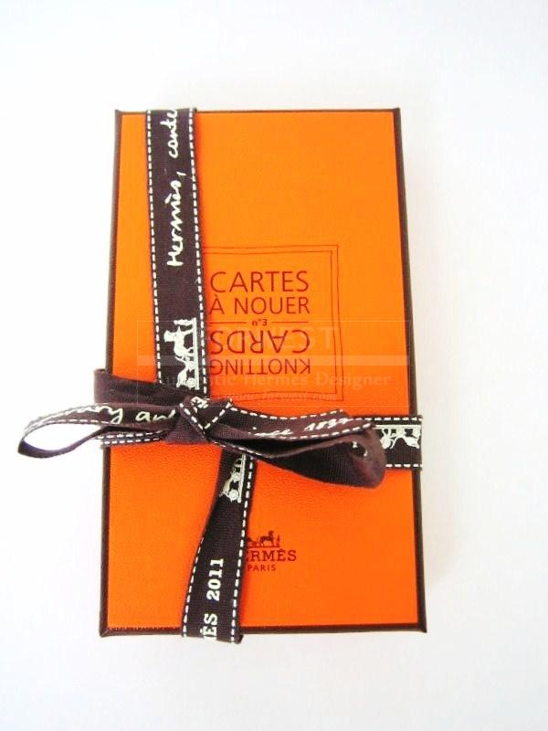 Hermes Knotting Cards New In Box Shows How To Tie A Scarf