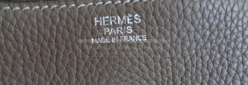 Hermes Lindy 30 Taurillon Clemence Etoupe