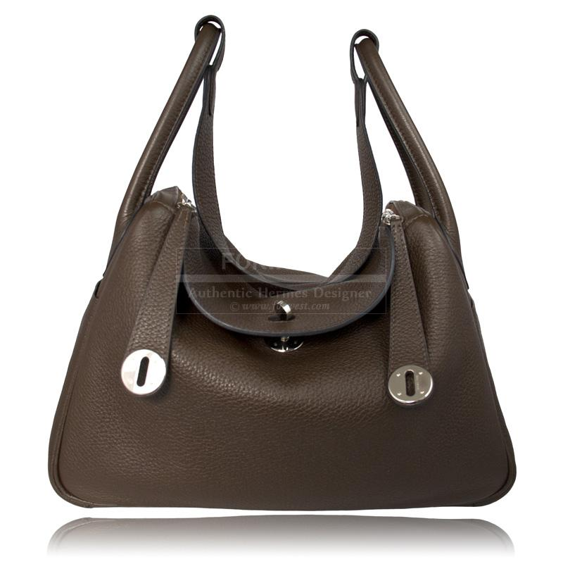 Hermes Lindy Bag Brown