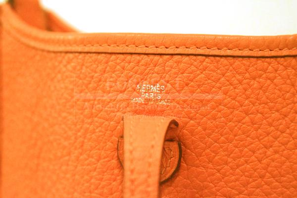 hermes orange bag