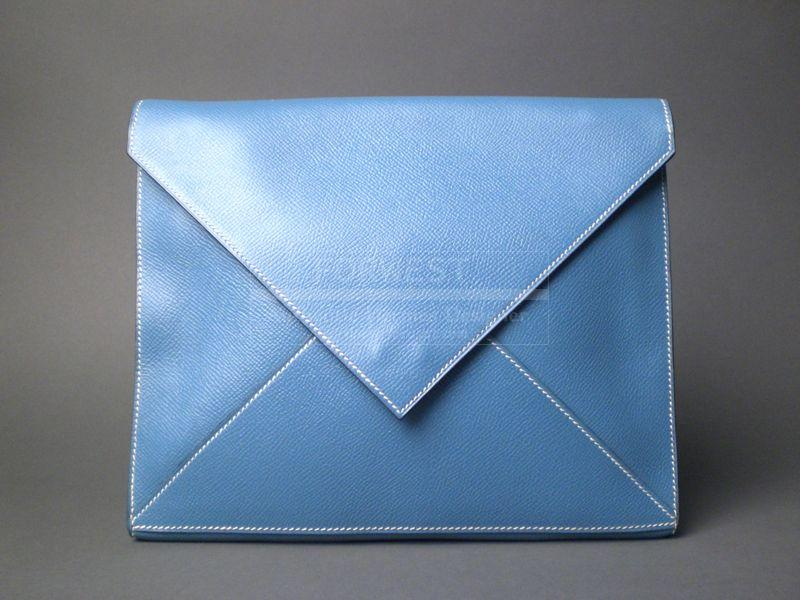 Hermes Origami Clutch Bag Mint