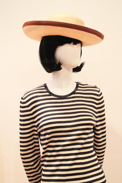Hermes Parabuntal Straw Trefle Lady Hat Sz 57