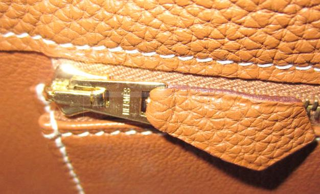 Hermes So Kelly 22 Gold Togo Leather Gold Hardware 2008