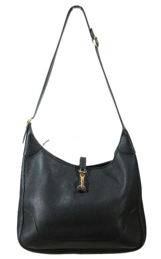 Black Leather Shoulder Bag – Shoulder Travel Bag