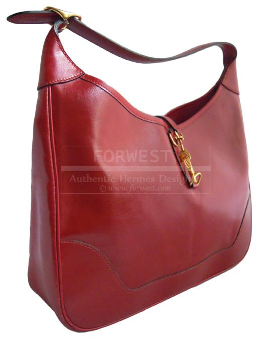 Hermes Trim Red Bag-$3400.0000