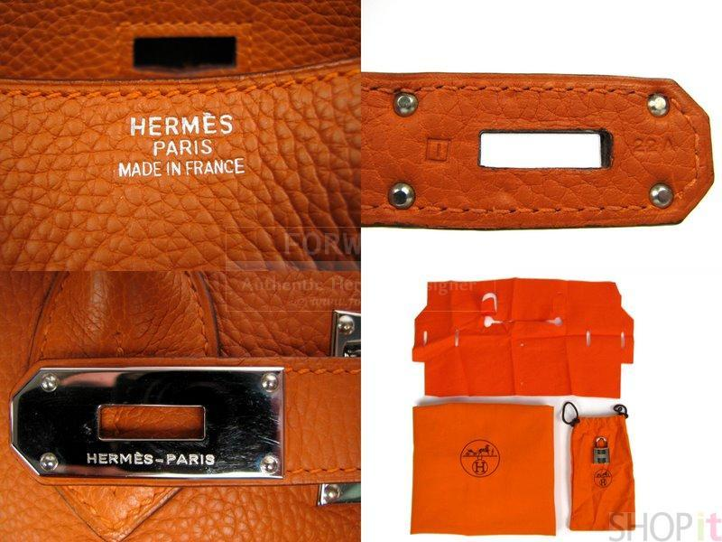 Jpg Hermes Birkin Bag Orange Clemence Palladium Handbag