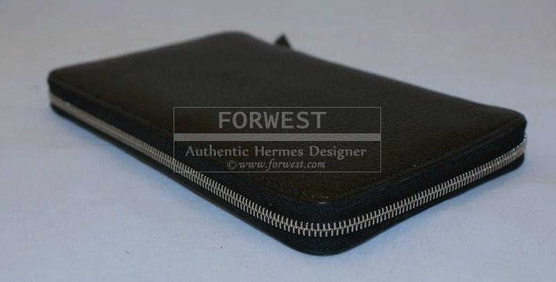 New Hermes Epsom Leather Vision Diary Organizer Wallet Agenda