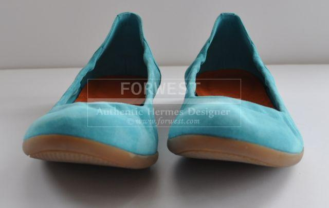 Preowned Amazing Hermes Carina Balleries Flat Shoes