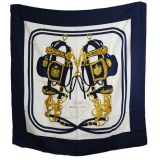 Authentic Hermes Brides De Gala Silk Scarf