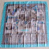 Authentic Hermes Carre Courses De Deauville Silk Scarf